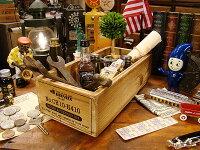 ダルトンウッデンボックス1仕切り(ナチュラル)★木箱★アメリカ雑貨★アメリカン雑貨
