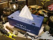 ミルスペック ミリタリーティッシュケース エアフォース アメリカン ティッシュ ボックス おしゃれ ブランド インテリア ミリタリー