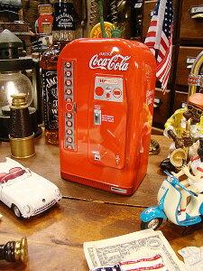 縦長タイプの缶にしました的なアメリカらしいデザイン!コカ・コーラブランド ベンディングマ...