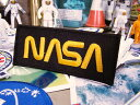 NASAワッペン(NASA・ブラック) ■ 自分仕様だから愛着も強くな...