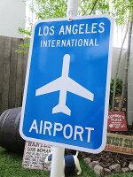 エアポートのトラフィックサイン(ロサンゼルス)★看板