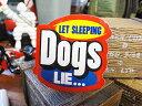 コトワザステッカー(寝ている犬は寝かせておけ) ■ 自分仕様だから愛着...