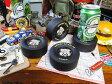 モーター系が好きな人はきっと10年経ってもお気に入り! グッドイヤーのレーシングタイヤコースター 4個セット ■ アメリカ雑貨 アメリカン雑貨 アメ雑貨 アメ雑