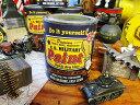 自分の秘密基地を作るなら、やっぱりこの色!戦車色に塗れちゃうペンキ ミリタリーペイント アーミータンクグリーン #001 ■ アメリカ雑貨 アメリカン雑貨 DIY ガレージ おすすめ ラック diy