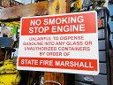 アメリカのプラスチックサインボード ヘビーオンスタイプ(禁煙/エンジン...