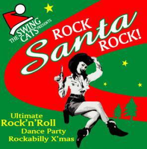 ロカビリーでクリスマス行くぜ!音楽CD ロック・サンタ・ロック ■ 飾り インテリア 装飾 メリ...