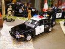 フォード・クラウンビクトリアのポリスカーミニカー 1/42スケール ■ アメリカ雑貨 アメリカン雑貨