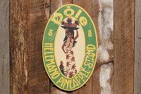昔のアドバタイジングのハワイアンウッドサイン(ドール・パイナップル)★アメリカ雑貨★アメリカン雑貨