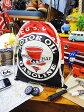 レッドハットモーターオイルのキンチャク袋 Lサイズ ■ アメリカ雑貨 アメリカン雑貨