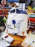 ロードランナーのキンチャク袋 Lサイズ ■ アメリカ雑貨 アメリカン雑貨 アメキャラ アメコミ