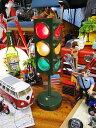 ミニカーと並べて飾る! アメリカの信号機ライト(グリーン) ■ ミニカ...