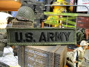 U.S.アーミーの野戦用ミリタリーワッペン (レクタングル) ■ こだ...