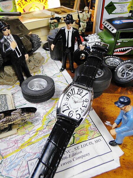 5b88c43ab7 天才時計師フランク三浦の腕時計 /アメリカン雑貨 おもしろ雑貨 おもしろグッズ 人気 おしゃれ 腕時計 メンズ レディース ユニセックスタイプ 白  通販 ウォッチ