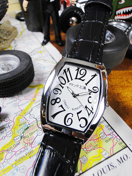 1dca59824c 天才時計師フランク三浦の腕時計 /アメリカン雑貨 おもしろ雑貨 おもしろグッズ 人気 おしゃれ 腕時計 ...