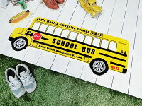 スクールバスのフロアマット★アメリカ雑貨★アメリカン雑貨