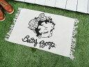 ベティ・ブープのコットンマット(レギュラーサイズ/フェイス) ■ ベテ...