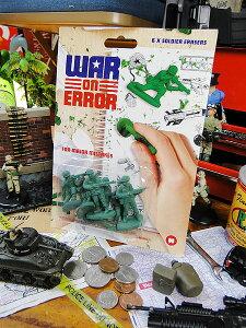 さあ子供心に帰って箱庭的戦争ごっこ、始めますか!ワーオンエラー ソルジャーイレイザー 6P...
