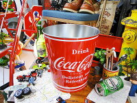 コカ・コーラブランドティンバケツ★コカコーラグッズ雑貨グッズブランドCoca-Colaアメリカ雑貨アメリカン雑貨