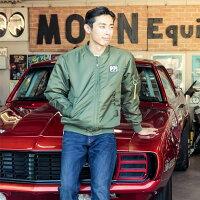 ムーンイクイップメントMA-1ジャケット■アメリカ雑貨アメリカン雑貨