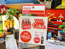 コカ・コーラブランド ロゴステッカー(BA18) ■ コカコーラグッズ アメリカ 雑貨 グッズ Coca-Cola アメリカン雑貨 こだわり派が夢中になる!アメリカ雑貨屋 テーマパーク ステッカー アメリカン スーツケース 車 人気 おしゃれ シール かわいい コーラ レトロ