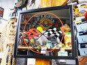 ガレージパブミラー(コルベット) ■ アメリカ雑貨 アメリカン雑貨 壁掛け 壁飾り 鏡 インテリアグッズ カッコイイ男の部屋を目指せ! アメリカ雑貨