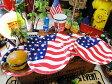 星条旗のペーパープレート 8枚入り(Lサイズ) ■ アメリカ雑貨 アメリカン雑貨 お花見グッズ 使い捨て キッチン用品 アウトドア バーベキュー キャンプ 皿 おしゃれ 取り皿 人気 こだわり派が夢中になる人気のアメリカ雑貨屋