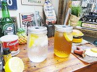レッドネックシッパーメイソンジャーのドリンクボトル2本セット(クリアー)★アメリカ雑貨★アメリカン雑貨