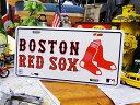 アメリカメジャーリーグのライセンスプレート(ボストン・レッドソックス)...