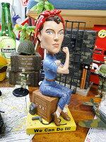 ロージー・ザ・リベッターのボビングヘッド■アメリカン雑貨ヘッドノッカーアメリカ雑貨