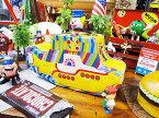 アナタの元へ「いざ出航♪」 ビートルズ イエローサブマリンのランチボックス ■ アメリカ雑貨 アメリカン雑貨