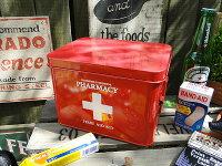 ファーマシーボックス救急箱■アメリカ雑貨アメリカン雑貨