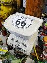 ルート66のトイレットペーパーホルダーカバー ■ アメリカ雑貨 アメリ...