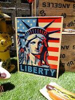 リバティフラッグプレート■アメリカ雑貨アメリカン雑貨