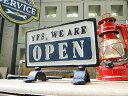 RoomClip商品情報 - ダルトン オープン&クローズのアイアン製スタンドサイン ■ アメリカ雑貨 アメリカン雑貨 アメリカ 雑貨 インテリア 小物 男前 サインプレート アンティーク アメリカン