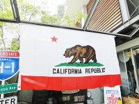 カリフォルニア州旗のフラッグ★アメリカ雑貨★アメリカン雑貨