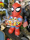 お菓子を配るのさえイベントにしちゃう♪スパイダーマンのキャンディボウル ■ アメリカン雑貨 アメキャラアメコミ パーティー 置物 キッズ 子ども プレゼント 生活雑貨 スパイダーマン グッズ フィギュア 人気