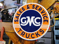 GMCトラックのブリキ看板■サインプレートブリキアメリカ看板ティンサインサインボードアメリカンブリキ看板アメリカ雑貨アメリカン雑貨