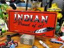 インディアンのライセンスプレート ■ ナンバープレート アメリカ看板 ...