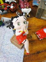 ベティ・ブープのベンダブルキーリング(レッドドレス)■アメリカ雑貨アメリカン雑貨