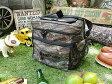 スナップオンのクーラーバッグ(カモフラ) ■ アメリカ雑貨 エコロジー エコバッグ 鞄 メンズ バッグ おしゃれ アメカジ アウトドア ピクニック ソフトクーラーボックス レジャー バーベキュー おしゃれ 人気