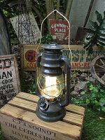 ランタン型LEDランプ(カーキグリーン/Lサイズ)■アメリカ雑貨アメリカン雑貨アウトドアガーデニングライト生活雑貨照明おしゃれ