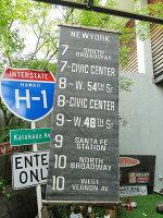 バスロールサインのタペストリー(ニューヨーク)■こアメリカ雑貨アメリカン雑貨