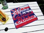 ハワイ州旗のハンドタオル ■ アメリカ 雑貨 アメリカン雑貨 ハワイ雑貨 男前 インテリア 生活雑貨 おしゃれ 人気 プール レジャー 海水浴 人気