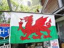 ウェールズ国旗のビッグサイズフラッグ ■ みんなが憧れる部屋に大改造!...
