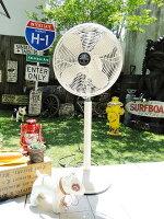 レトロファンフロア2016年モデル(アイボリー)■レトロファンテーブル■卓上扇風機■デザイン扇風機■アメリカ雑貨アメリカン雑貨