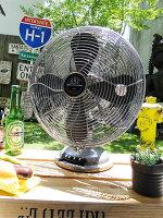 レトロファンテーブル2016年モデル(シルバー)■レトロファンテーブル■卓上扇風機■デザイン扇風機■アメリカ雑貨アメリカン雑貨
