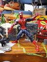 手掛けたのは、世界トップクラスのあの玩具メーカー☆ ハズブロ マーベル・コミック レジェンドシリーズ#01 スパイダーマンの12インチアクションフィギュア ■ アメリカン雑貨 アメキャラ アメコミ スパイダーマン グッズ フィギュア 人気