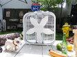 ラスコ ボックスファン ■ 扇風機 アメリカ雑貨 アメリカン雑貨 排気 送風機 湿気除去 結露対策 換気 人気 おしゃれ インテリアグッズ 男のおしゃれな部屋