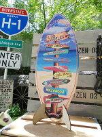 ミニサーフボード(ビーチサイン)■アメリカ雑貨アメリカン雑貨