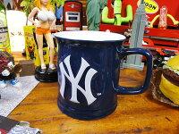 ニューヨーク・ヤンキースのオフィシャルマグカップ■アメリカ雑貨アメリカン雑貨